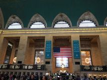 Grand Central Station Located in New York City. stock photography