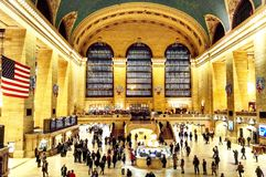 Grand central station. Manhattan, NYC, landmark Stock Photography
