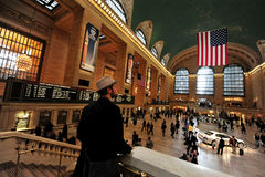 The Grand Central Station in Manhattan NYC Royalty Free Stock Photography