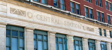 Grand Central Station Memphis, Tennessee. Royalty Free Stock Image