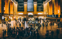 Grand Central Station, in Midtown Manhattan, New York. Royalty Free Stock Image