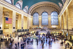 Grand Central Station Motion Stock Photography