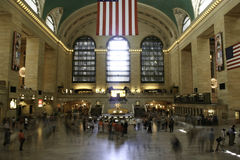 Grand Central Station Movement Stock Photo