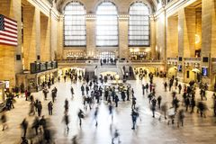 Grand Central Station New York Royalty Free Stock Photos