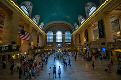 Grand Central Station, New York Royalty Free Stock Images