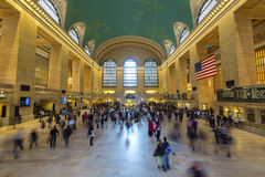 Grand Central Station. New York. Royalty Free Stock Photos