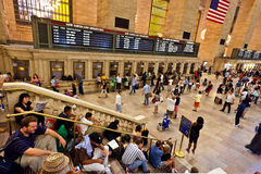 Grand central station during Royalty Free Stock Photo