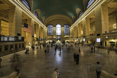Grand central station, New York City, Manhattan on 8 september 2 Royalty Free Stock Image