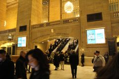 Grand Central Station. New York Royalty Free Stock Photos