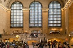 Grand Central Station in New York Stock Images