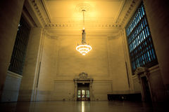 Grand Central Station NYC Waiting Area Royalty Free Stock Photography