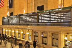 Grand Central Station. Royalty Free Stock Images