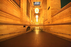 Grand Central station, tidigt en morgon Arkivbilder