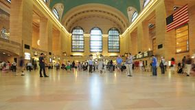 Grand Central Station Time Lapse Clip 3. Time Lapse of Grand Central Station NYC.   Thanks for looking stock video footage