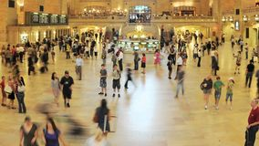 Grand Central Station Time Lapse Clip 5. Time Lapse of Grand Central Station NYC.   Thanks for looking stock footage