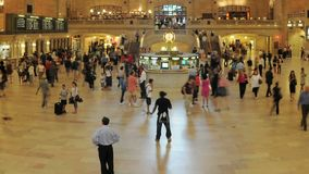 Grand Central Station Time Lapse Clip 1. Time Lapse of Grand Central Station NYC.   Thanks for looking stock video footage