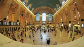 Grand Central Station Time Lapse Clip 2. Time Lapse of Grand Central Station NYC.   Thanks for looking stock video footage