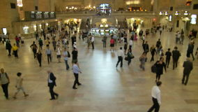 Grand Central Station Time Lapse Crowd - Clip 8. Time Lapse of Grand Central Station NYC stock footage