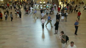 Grand Central Station Time Lapse Crowd - Clip 4. Time Lapse of Grand Central Station NYC stock video footage