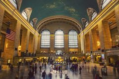 Grand Central station in USA