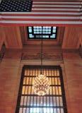 Grand Central stationsarkitektur fotografering för bildbyråer