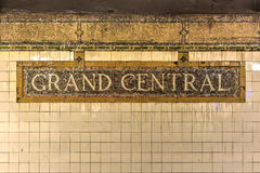 Grand Central Subway Station - New York City Royalty Free Stock Images