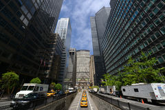 Grand Central Termial and MetLife Building, New Yor City Stock Photos