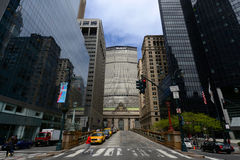 Grand Central Termial and MetLife Building, New Yor City Stock Images
