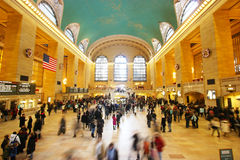 Grand Central Terminal. In New York City, NY during a busy New Years Eve weekend Stock Image