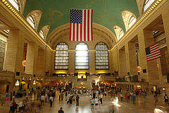 Grand central terminal. One of new york city landmarks Stock Image