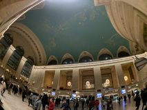 Grand Central -Terminal binnen stock fotografie