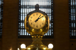 Grand Central Terminal Clock. Clock in the interior of Grand Central Terminal in New York City Stock Image
