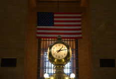 Grand Central Terminal Clock. Clock in the interior of Grand Central Terminal in New York City Royalty Free Stock Photos