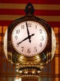 Grand Central Terminal Clock Closeup New York City USA. Manhattan Stock Images