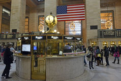 Grand Central Terminal Clock Stock Image