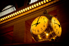 Grand Central Terminal Clock, New York, USA. Royalty Free Stock Photo