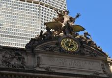 Grand Central Terminal Clock, NYC, USA Stock Photos