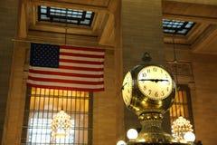 Grand Central Terminal clock Stock Photos