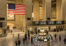 Grand Central Terminal Concourse, New York Royalty Free Stock Photos