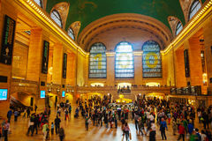 Grand Central terminal i New York Royaltyfria Bilder
