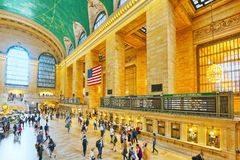 Grand Central Terminal- järnvägterminal i New York City, Uni Royaltyfria Bilder