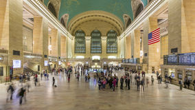 Grand Central Terminal 4K stock video footage