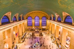Grand Central terminal New York City Arkivbilder