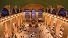 Grand Central Terminal stock footage