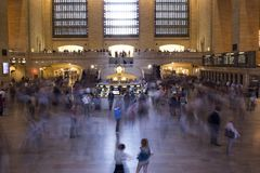 Grand Central Terminal in New York City. Royalty Free Stock Photo