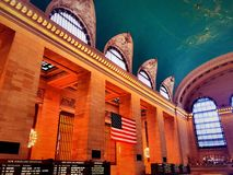 Grand Central Terminal in new york. Grand Central Terminal interior in new york city United states Stock Image