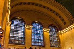 Grand Central Terminal. NEW YORK, USA - OCT 8, 2015: Grand Central Terminal (GCT) is a commuter railroad terminal. It's located at  42nd Street and Park Avenue Stock Images