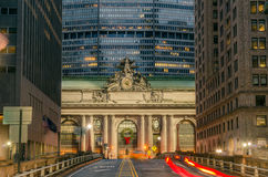 Grand Central Terminal at Night Stock Photo