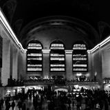 Grand Central Terminal - NYC. Travel Time in NYC Stock Photography