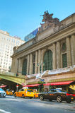 Grand Central Terminal old entrance. NEW YORK CITY - SEPTEMBER 05: Grand Central Terminal old entrance on September 5, 2015 in New York City Stock Photos